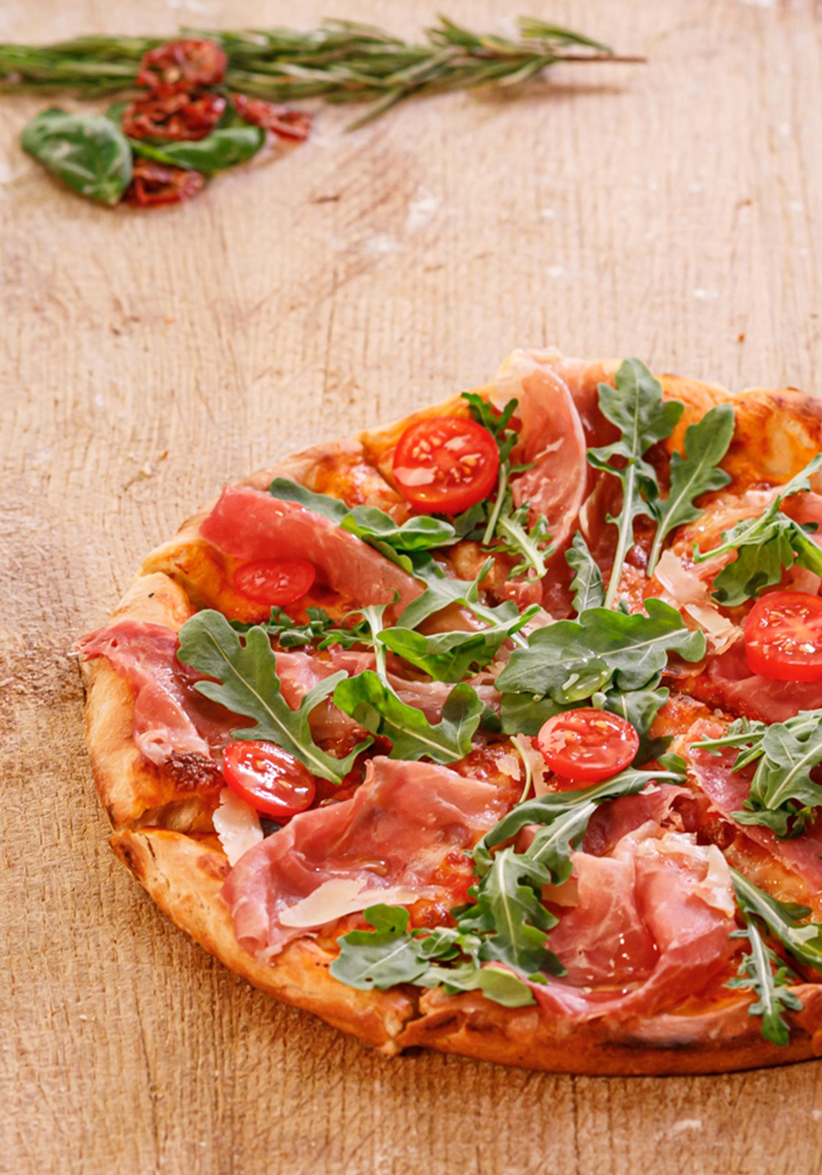 Il Plonner Dorf-Gasthof Wessling Pizza Italienisch Parma