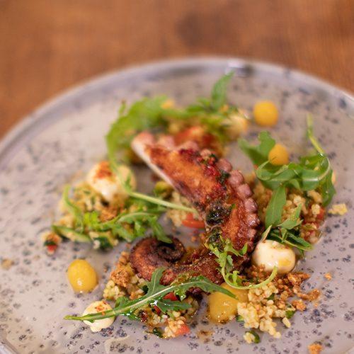 Il Plonner Restaurant Tintenfisch